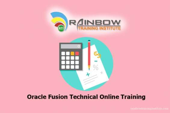 Oracle fusion technical online training