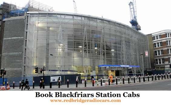Book blackfriars station cabs at low cost | redbridge radio cars