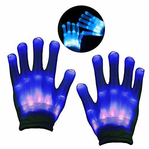Kimy led gloves for kids - best gifts blue