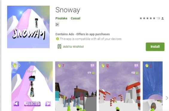 Snoway amazing game