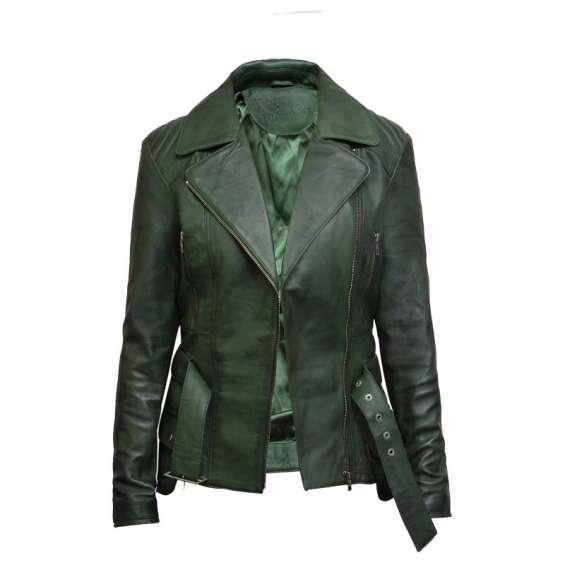 Best women's leather biker coats - brandslock