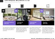 Impress Blinds will increase your home's attraction
