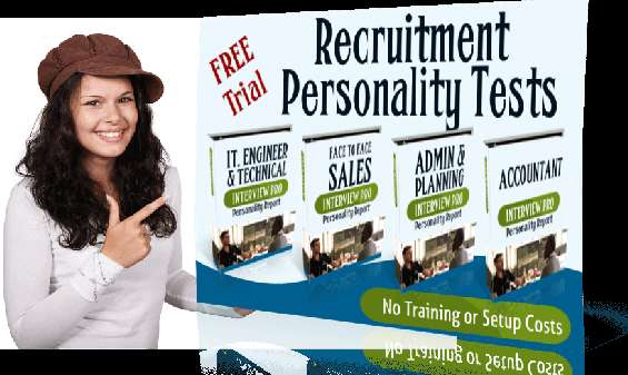 Psychometric test for recruitment