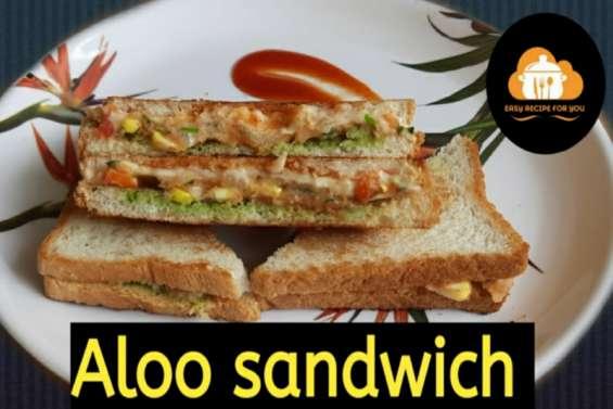 Aloo tawa sandwich recipe