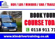 HGV and LGV Driver Training in UK