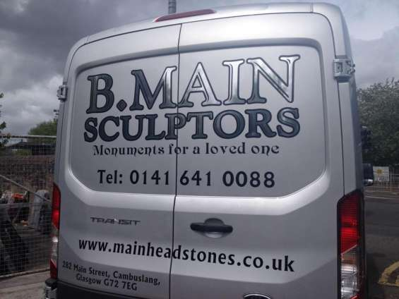 If you need headstones, simply contact our sculptors in glasgow