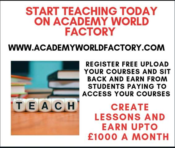 Do you have a skill you would like to teach?