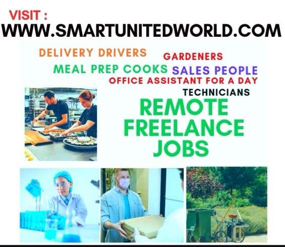 Remote freelance jobs