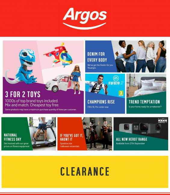 Shop with argos voucher codes 10% off and get argos free delivery
