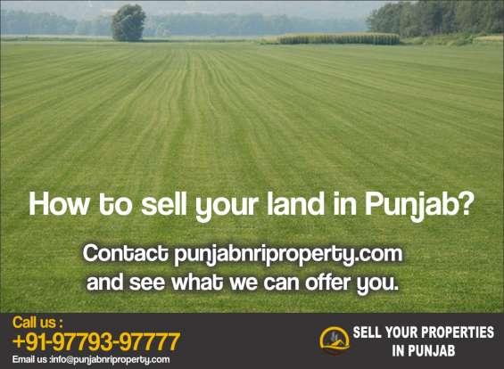 Sell properties, plot, land, houses in punjab from uk, canada, australia - punjab nri prop
