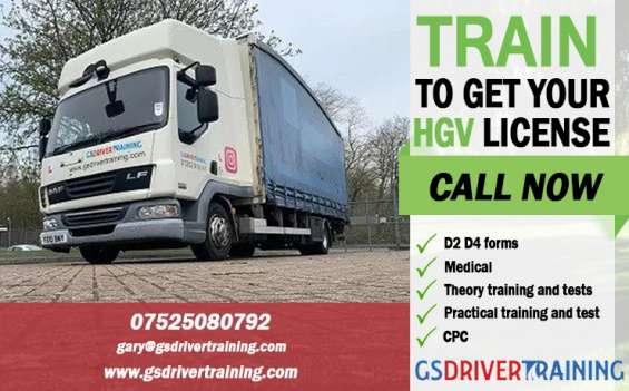 Professional lgv, hgv driver training in uk