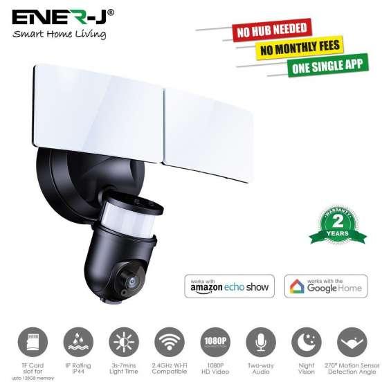 Wireless floodlight security camera
