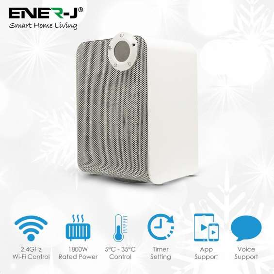 Smart ceramic fan heater