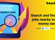 Search and find side jobs nearby to earn money daily