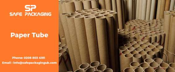 Brown postal tubes