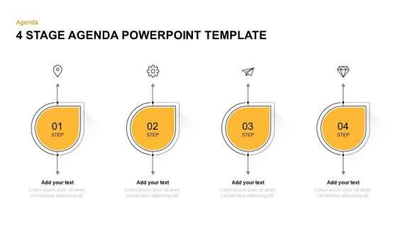 Business agenda powerpoint templates