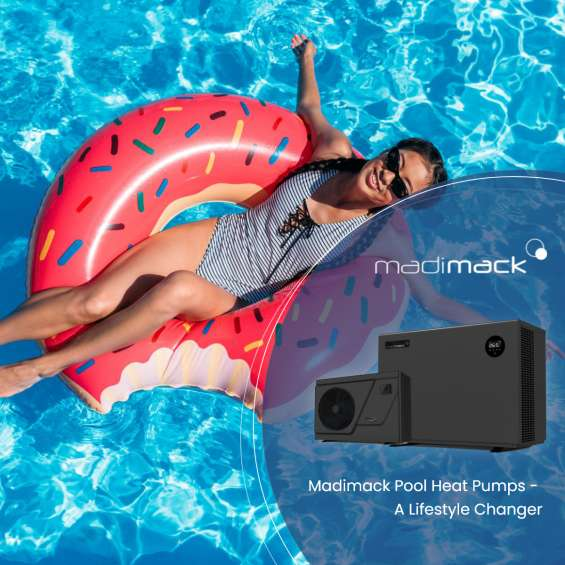 Get the best pool heat pump units for your homes with madimack
