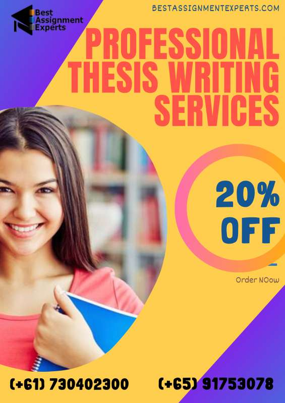 Online thesis writing