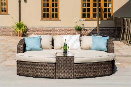 Outdoor furniture rattan daybeds   rattan furniture fairy