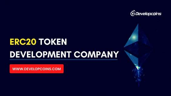 Create your own erc20 token at developcoins and get 50% offer!