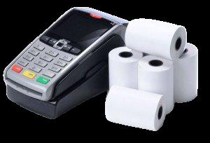 Credit card thermal paper