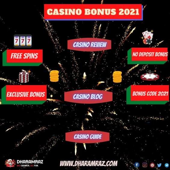 Online casino bonus 2021 | exclusive casino bonus 2021