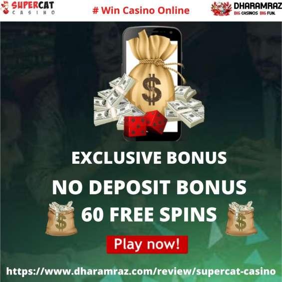 Supercat casino free spins bonus 2021