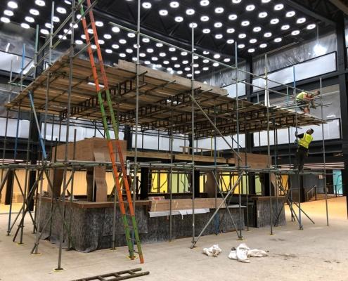 Solid scaffolding