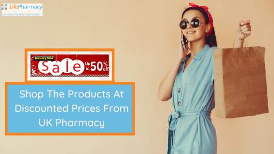 January sale: shop the products at discounted prices from uk pharmacy