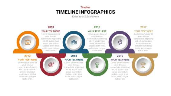 Download timeline powerpoint template for all design level | slideheap