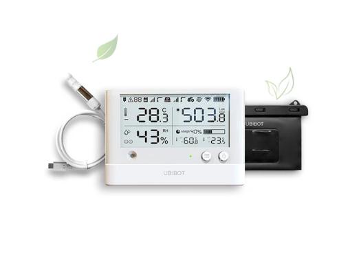 Greenhouse bundle - 24/7 temperature & humidity & light monitoring