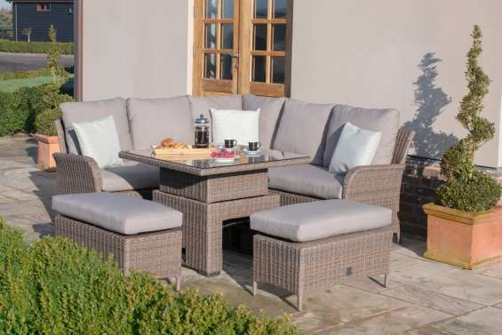 Rattan corner sofa sets | rattan furniture fairy