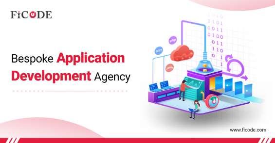 Bespoke application development agency