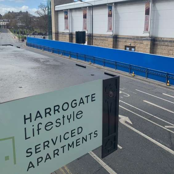 Harrogate accommodation with parking