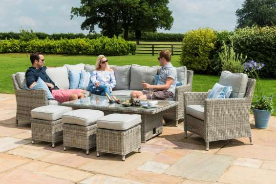 Best design & pure quality rattan garden sofa sets