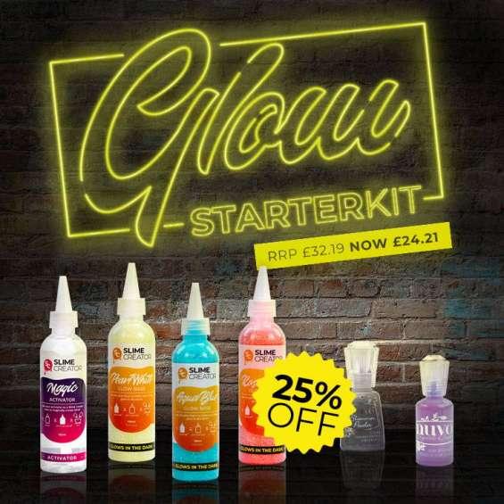 Glow starter kit by slime creator