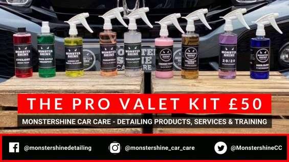 The pro valet kit | monstershine car care