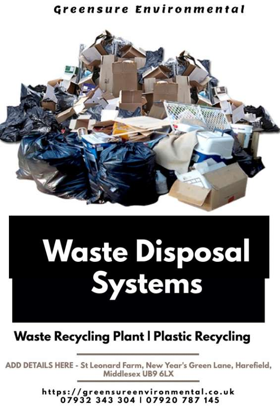 Waste management service harefield | disposal of waste middlesex