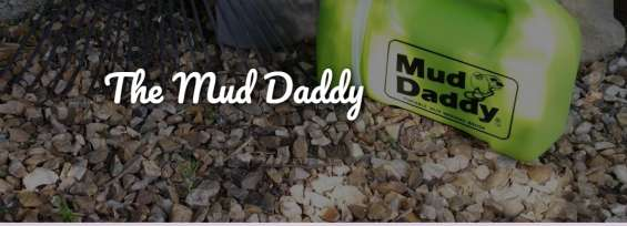 Portable washing brush| the mud daddy | the 10 minute gardener