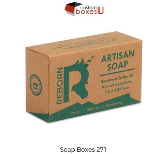 Soap boxes with printed logo & design in uk