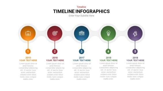 Timeline powerpoint template | slideheap