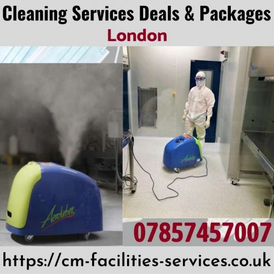 Cleaning, disinfection, antiviral services