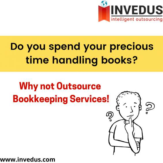 Hire a professional bookkeeper from invedus