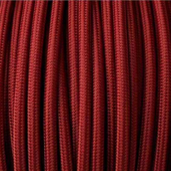 Red colour 2 core round cable