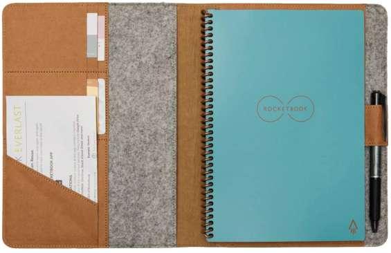 Moonsafari a4 & a5 reusable notebook cover & rocketbook cover smart business notebook cove