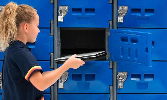 Durable and customisable lockers for students