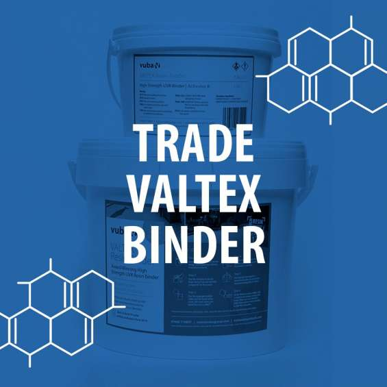 Valtex resin bound binder 7.5kg from vuba