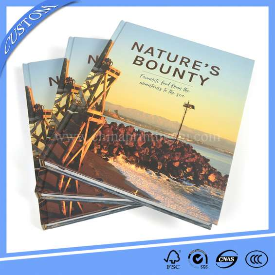 Custom services durable hardcover printing in china with low price