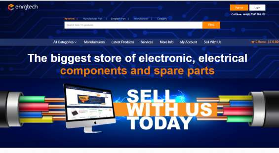 Buy online electronic components in uk : enrg tech