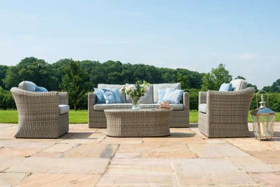 Spending time outdoors can be more fun with rattan garden furniture sets